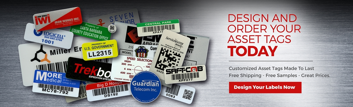 asset tags labels affordable custom asset tags labeloutlet com