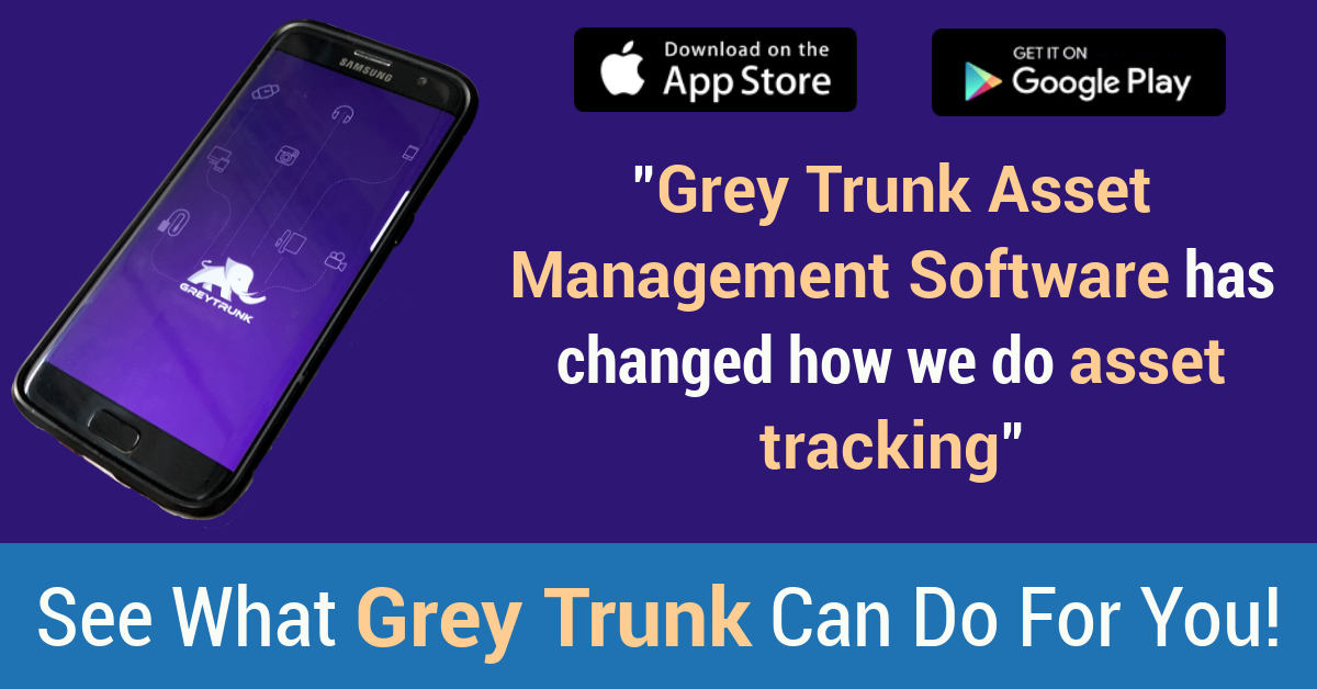 Grey Trunk Asset Tracking Software
