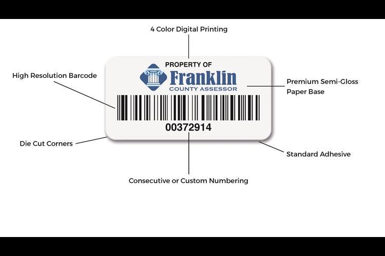 PolyTrac Economy Paper Label