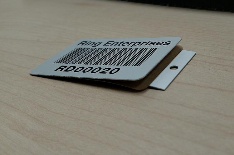 Tabbed Barcode